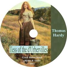 Tess of the d'Urbervilles, Thomas Hardy Classic English Audiobook on 15 Audio CD