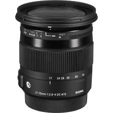 Sigma 17-70mm f/2.8-4 DC Macro OS HSM contemporary 'C' Nikon Lens