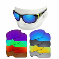 OOWLIT Replacement Etched Polarized Lenses for-Oakley Big Taco OO9173 Sunglasses