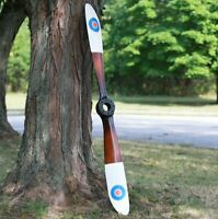 British Royal Air Force Vintage WWII Wooden Airplane Propeller