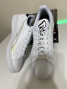 New Box Adidas Advantage Pokemon White Black Men Classic Shoes Sneakers Size 11