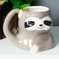 Animal Friends Ceramic Sloth Mug Fun Shaped Mugs Novelty Christmas Gift Idea