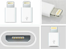 Micro USB to Lightning Charger Converter Adapter for iPhone 5/6/7 iPad Samsung
