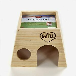 (3 Pack) Kaytee Woodland Get-A-Way Large Secure Resting Place for Small Animals