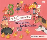 DIE 50 SCHÖNSTEN ENGLISCHEN KINDERLIEDER   3 CD NEU