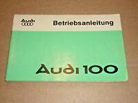AUDI 100 1975 Auto Union Betriebsanleitung Bedienungsanleitung Handbuch
