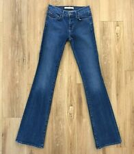 J Brand Womens 24 Bootcut Jeans Lycra Stretch AGD Distressed Blue 1326 118