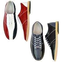 NEW MENS RETRO MOD BRITPOP NORTHERN SOUL BOWLING SHOES MADCAP ENGLAND ALL UP