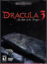 Dracula 3 The Path Of The Dragon PC DVD-Rom SEALED NEW