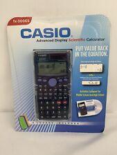 Casio FX-300ES Scientific Calculator 249 Function 3 Fashion Covers Activities CD