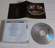 CD ALBUM LA JAVA DE BRODWAY COMME D'HABITUDE  SARDOU MICHEL 11 TITRES 1996