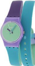 Swatch Womens Originals LV117 Multi Silicone Swiss Quartz Fashion Watch