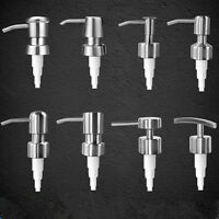 304 Stainless Steel Soap Pump Liquid Lotion Dispenser Replacement Jar Tube Nice.