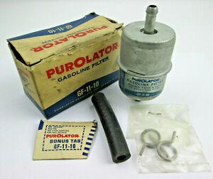 Fuel Filter Purolator GF11-10 1962 Falcon Comet '62-63 Ford Truck 144/170 engine