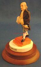 Sebastian Miniatures~Ben Franklin~221/300~Masonic~ Mason~Kite Flying~Painted