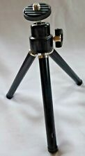 Black Table Top Tripod with Ball & Socket Head Extendable Legs