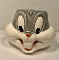 Bugs Bunny Coffee Cup Mug Ceramic Warner Bros Looney Tunes 3D Vintage