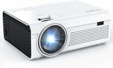 New ListingCrosstour Mini Portable Video Movie Projector, Home Theater with 55,000 Hrs Led
