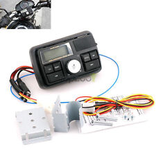 Bluetooth Waterproof Motorcycle Audio FM MP3 Radio Sound System Stereo top
