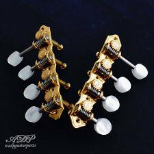 Mecaniques Mandolin F Tuners Schaller Grand Tune Gold Pearl Reverse Sc505456