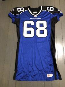 Dallas Desperados Arena Football GAME USED Jersey #68