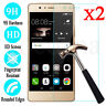 2Pcs Tempered Glass Screen Protector Film For Huawei P9 / P9 Plus / P9 Lite 2017