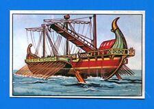 ARMI E SOLDATI - Edis 71 - Figurina-Sticker n. 83 - TRIREMI ROMANA -Rec