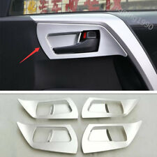 For Toyota RAV4 2016 2017 2018 ABS Chrome Interior Door Handle bowl cover trim
