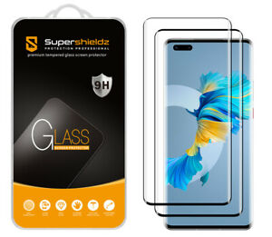 2XSupershieldz Full Cover Tempered Glass Screen Protector for Huawei Mate 40 Pro