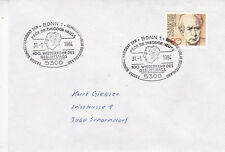 West Germany 1984 100th Birth Anniversary of Theodor Neuss Cover VGC