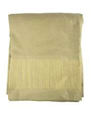 """FRETTE Italy Tihany Taupe Cotton Square Tablecloth 83"""" x 83"""" NEW"""