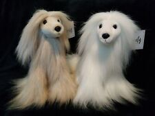 New Purely Luxe Afghan Hound Dog Plush Soft Fluffy