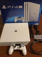 PlayStation 4 PRO console white 1TB (CHU-7000B) Sony Japan version region free