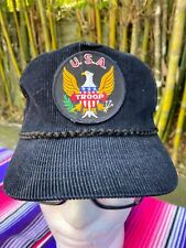 Vintage Hip Hop Corduroy TROOP hat LL Cool J