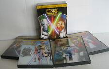 STAR WARS The Clone Wars - 1ª Stagione (2009) 4 DVD BOX SET