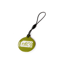 10 Green ZipNFC NFC Hang Tags NTAG213: Windows  Nokia Samsung Sony HTC LG