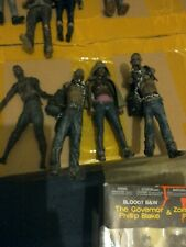 McFarlane the walking dead Michonne and Pets figures + bonus figure
