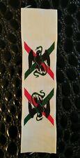 Ruban médaille commémorative du Mexique 1862-63 vert foncé fabrication ancienne