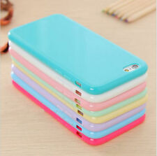 Candy Soft Gel TPU Silicon Phone Case for Apple iPhone 5s 5c 6 Plus Back Cover