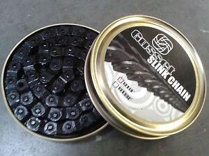 "Gusset BMX Chain HALF LINK (1/8"") BLACK (NEW!) GUSSET (inc Split Pin)"