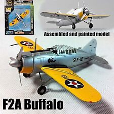 Finland F2A-2 Buffalo aircraft fighter 1/72 diecast plastic plane Easy model