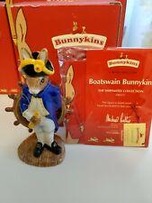 New ListingRoyal Doulton Bunnykins: Boatswain - Db323 - 2004 Shipmates Collection w Box