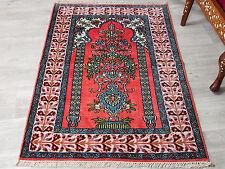 122x78 cm schöne handgeknüpften Kaschmir-seide Teppich kashmir-Silg rug No:78
