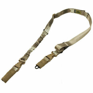 CONDOR STRYKE Tactical Einzelner Bungee Military Two/One Point Sling A-Tacs AU