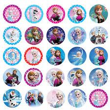 20pcs Movie Frozen Doll Princess Figures Brooches Badges Set Kids Boy Girl Toy