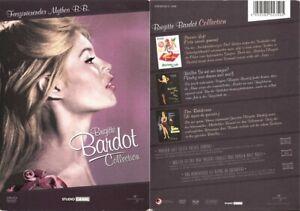 BRIGITTE BARDOT COLLECTION --- 3 Filme auf 3 DVDs --- Klassiker --- Uncut ---