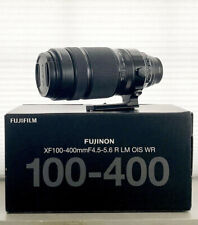 Fuji 100-400mm OIS super telephoto near-new in box WITH EXTRAS
