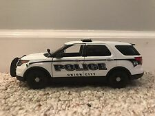 Union City Tennessee Police Department SUV diecast car Motormax 1:24 scale