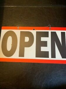 Open / Close Sign - Great for your Business Location!