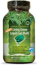 Men's Living Green Liquid-Gel Multi, Irwin Naturals, 90